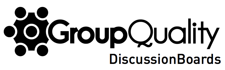 Contact us at GroupQuality online discussion boards